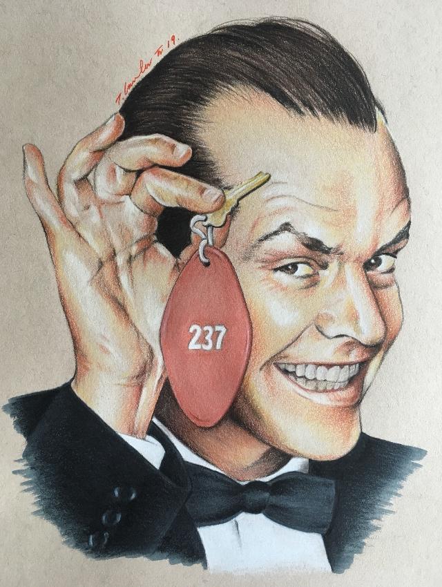Jack Nicholson by TraceyLawler